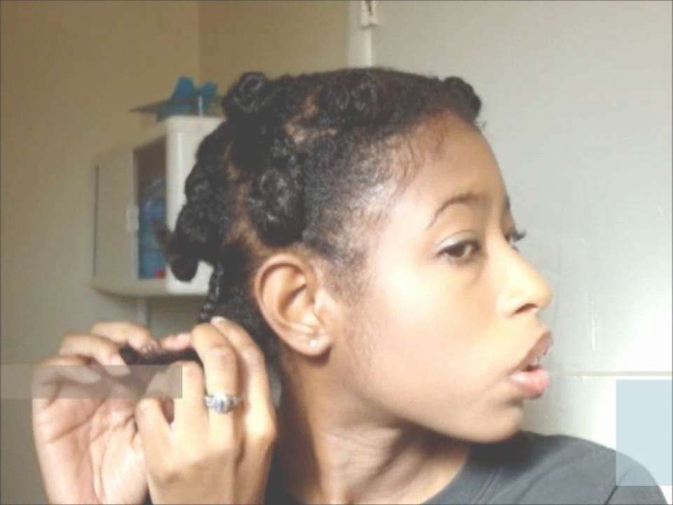 My Natural Hair Journey (Budget) #34: Medium Length Hair Style (4B Pertaining To Most Popular 4C Medium Hairstyles (View 11 of 15)