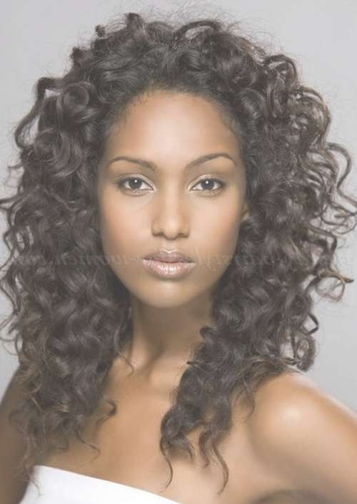 Natural Curly Hairstyles – All Down Hairstyle For Natural Curly Inside Most Popular Medium Haircuts For Naturally Curly Hair (View 24 of 25)