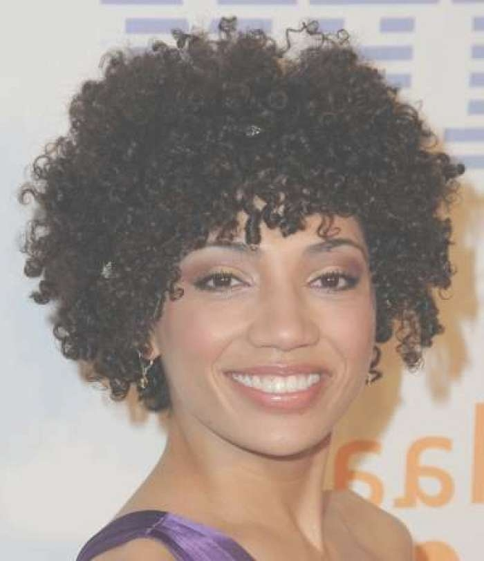 Natural Curly Hairstyles For Black Hair Natural Curly Hairstyles Intended For Recent Medium Haircuts For Naturally Curly Black Hair (View 6 of 25)