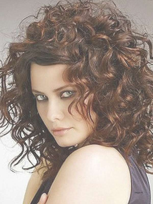 Showing Gallery Of Medium Haircuts For Naturally Curly Hair View 19