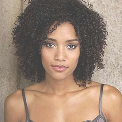 Natural Hairstyles For Black Women With Medium Hair – Hairstyle Regarding Newest Medium Haircuts For Black Women Natural Hair (View 2 of 25)