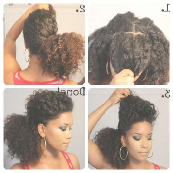 Natural Medium Hairstyles Inside Most Recent Medium Hairstyles For Natural Black Hair (View 5 of 15)