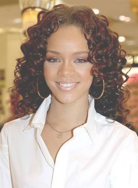 Naturally Curly Hairstyles For Women – Medium Curly Hairstyles Regarding Most Current Curly Medium Hairstyles Black Women (View 12 of 15)
