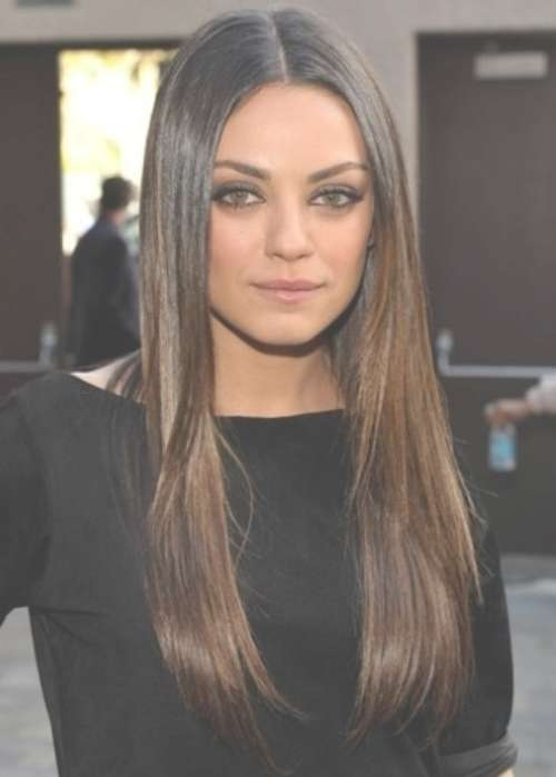 Neat Mila Kunis Medium Haircut Pertaining To Recent Mila Kunis Medium Hairstyles (View 7 of 25)