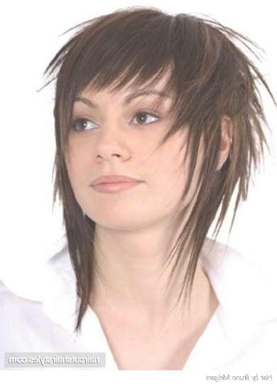 New Hairstyle 2014: Medium Choppy Layered Hairstyles Photos In Latest Choppy Layered Medium Haircuts (View 19 of 25)