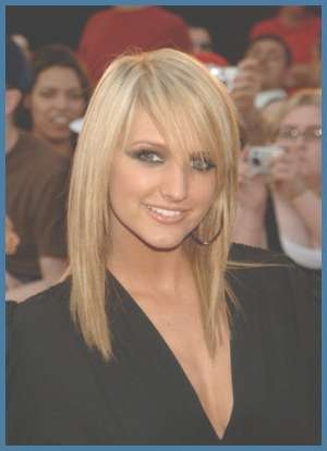 New Hairstyle: Medium Shag Hairstyle Pertaining To Current Ashlee Simpson Medium Haircuts (View 4 of 25)