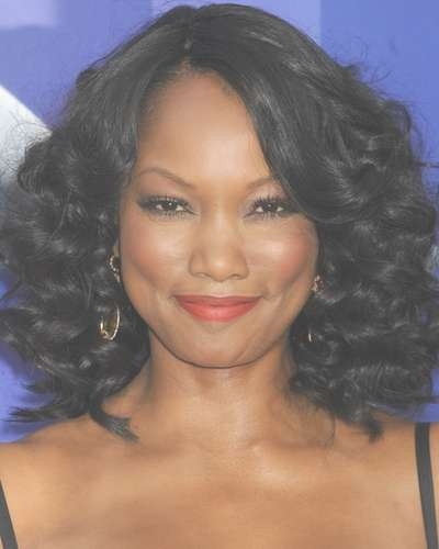 New Medium Length Haircuts Black Hair Intended For Most Current Medium Hairstyles On Black Women (View 19 of 25)