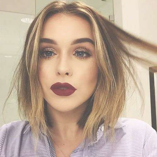 New Trend Blunt Bob Haircut Pictures | Bob Hairstyles 2017 – Short For Blunt Bob Haircuts (View 13 of 25)
