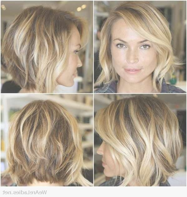 Nice Blonde Hair Bob Intended For Most Current Wedge Medium Haircuts (View 10 of 25)