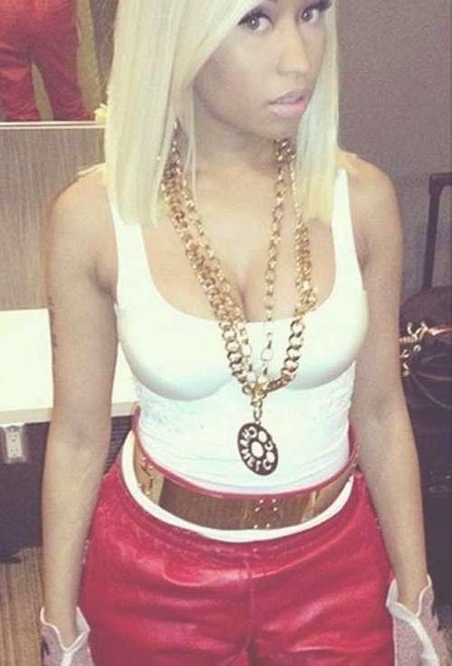 Nicki Minaj Blonde Bob Hairstyles | Short Hairstyles 2016 – 2017 For Newest Nicki Minaj Medium Haircuts (View 5 of 25)
