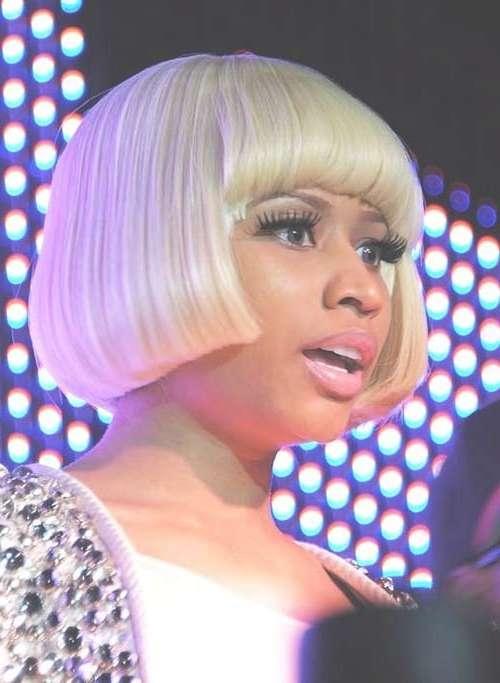 Nicki Minaj Blonde Bob Hairstyles | Short Hairstyles 2016 – 2017 In 2018 Nicki Minaj Medium Haircuts (View 22 of 25)