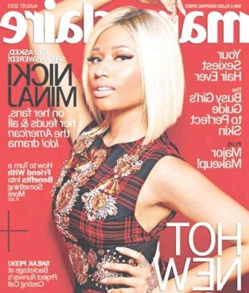 Nicki Minaj Blonde Bob Hairstyles | Short Hairstyles 2016 – 2017 Throughout Most Recent Nicki Minaj Medium Haircuts (View 18 of 25)