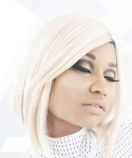 Nicki Minaj Blonde Bob Hairstyles | Short Hairstyles 2016 – 2017 With Regard To 2018 Nicki Minaj Medium Haircuts (View 17 of 25)