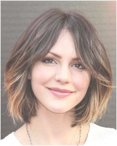 Ombre Bob Haircut: Short Hair For Heart Face Shape – Popular Haircuts Within Most Current Medium Hairstyles For Heart Shaped Faces (View 12 of 25)