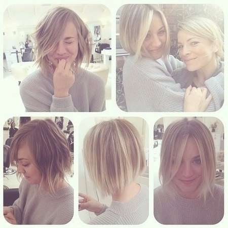 Ombre Hairstyle For Short Hair: Bob Haircuts For Fall - Popular with Fall Bob Hairstyles