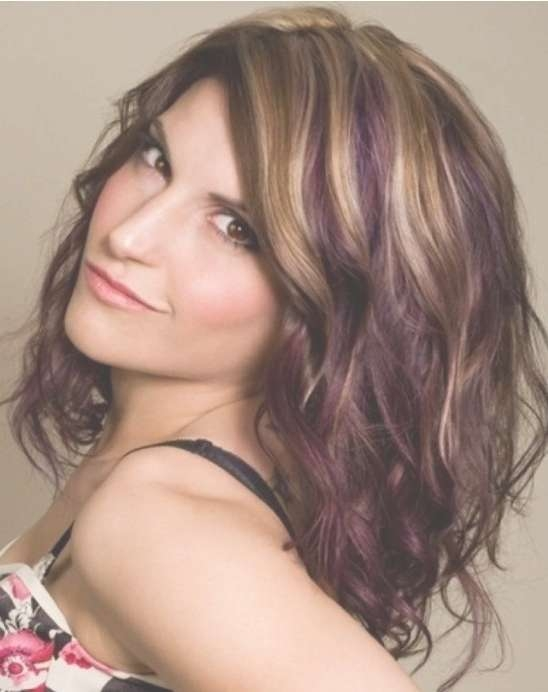 Ombre Hairstyles: Cute Medium Hair Cuts – Popular Haircuts Inside Best And Newest Cute Celebrity Medium Haircuts (View 22 of 25)