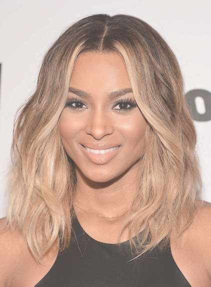Ombre Medium Hairstyles 2013 - Popular Haircuts inside Latest Ombre Medium Hairstyles