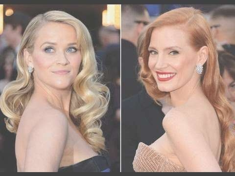 Oscars Hair | Red Carpet Hair & How To Get Vintage Hollywood Glam With Regard To Most Up To Date Old Hollywood Medium Hairstyles (View 17 of 25)