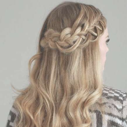 Our Favorite Prom Hairstyles For Medium Length Hair | More For Most Popular Boho Medium Hairstyles (View 23 of 25)