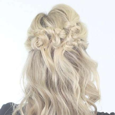 Our Favorite Prom Hairstyles For Medium Length Hair | More Pertaining To Best And Newest Half Long Half Medium Haircuts (View 14 of 15)