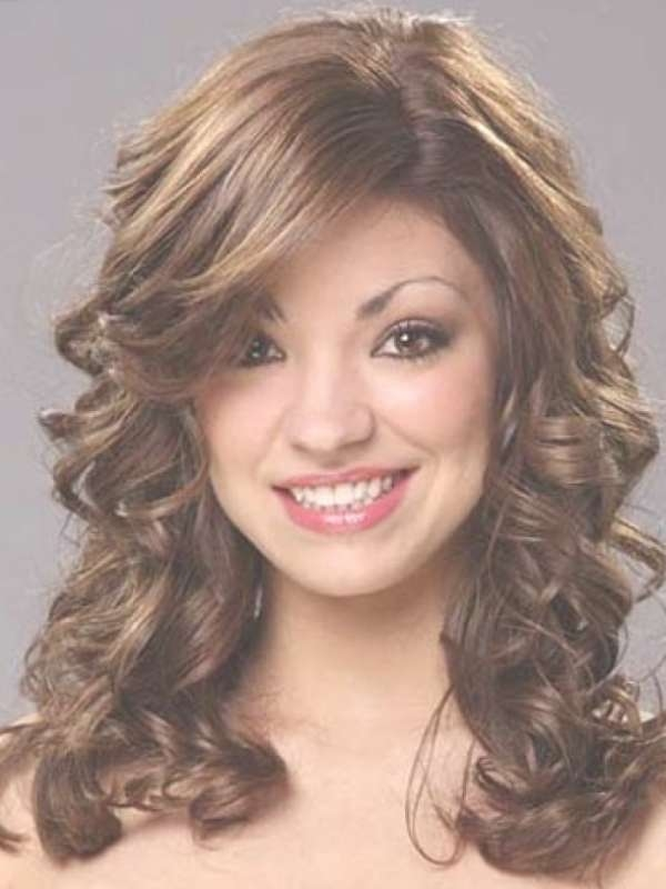 Party Hairstyle For Medium Curly Hair 2017 For Everyone Within Newest Medium Hairstyles For A Party (View 13 of 25)