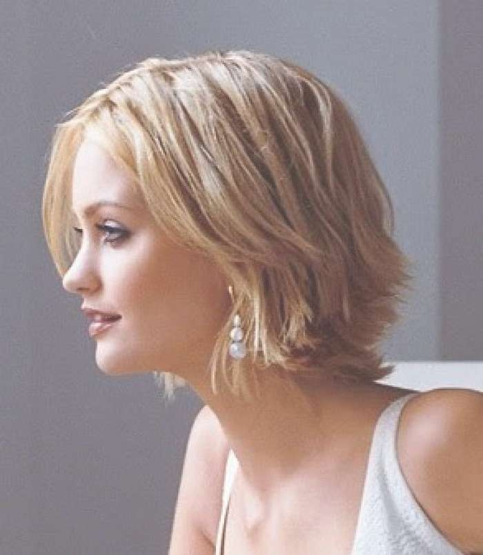 Photo Gallery Of Easy Care Short Hairstyles For Fine Hair (Viewing Within Recent Easy Care Medium Hairstyles For Fine Hair (View 15 of 15)