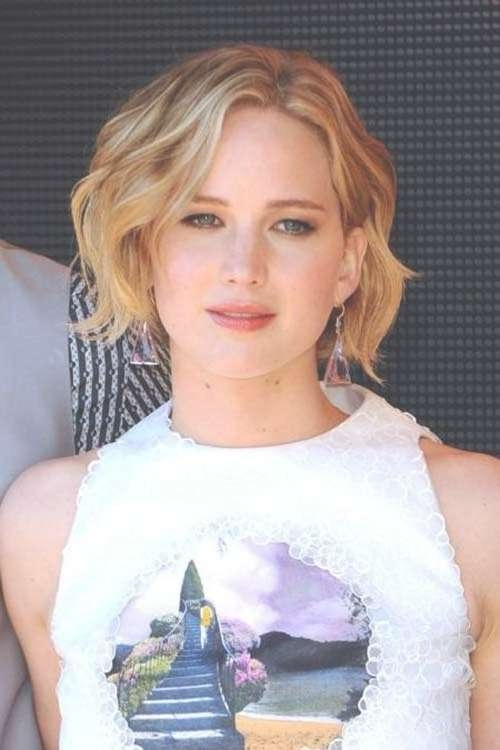 Photo Gallery Of Jennifer Lawrence Short Bob Haircuts (Viewing 8 Regarding Jennifer Lawrence Bob Haircuts Jennifer Lawrence (View 22 of 25)