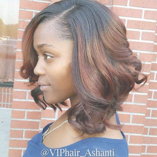 Photo Gallery Of Medium Bob Hairstyles For Black Women (Viewing 12 With Recent Bob Medium Hairstyles For Black Women (View 8 of 15)