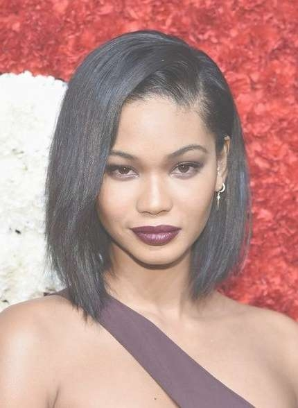 Photo Gallery Of Medium Bob Hairstyles For Black Women (Viewing 14 Within Most Recently Black Bob Medium Hairstyles (View 15 of 15)