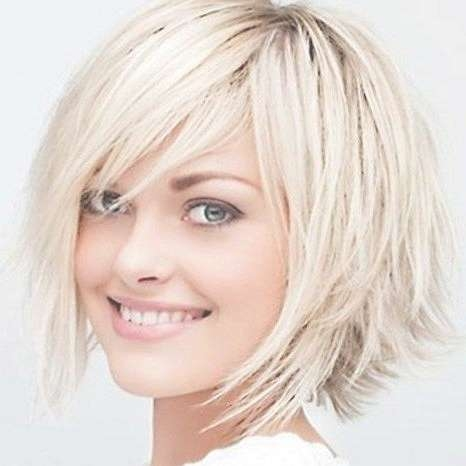 Photo Gallery Of Medium Length Bob Hairstyles For Fine Hair With Most Recent Trendy Medium Hairstyles For Thin Hair (View 11 of 15)