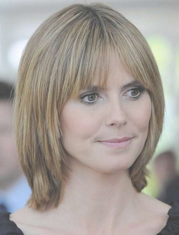 Photo Gallery Of Medium Length Bob Hairstyles For Thin Hair In Most Recently Trendy Medium Hairstyles For Thin Hair (View 12 of 15)