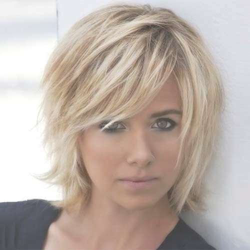 Photo Gallery Of Short Choppy Layered Bob Haircuts (Viewing 2 Of Within Layered Bob Haircuts (View 17 of 25)