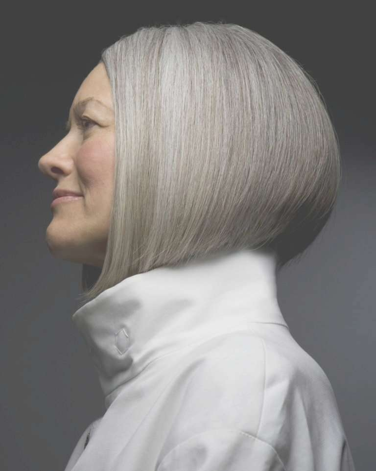 Photos Of Gorgeous Gray Hairstyles Throughout Most Current Medium Haircuts For Coarse Gray Hair (View 6 of 25)