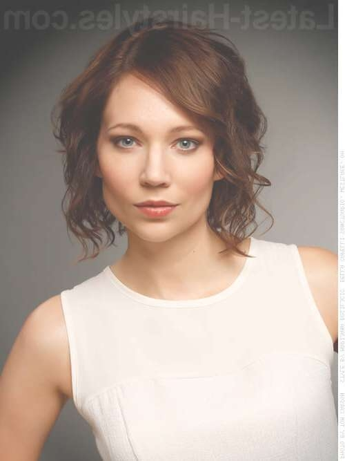 Photos Of Haircuts For Fine Hair Medium Brown Curly – Hair Styles Inside Best And Newest Medium Haircuts For Thick Fine Hair (View 8 of 25)