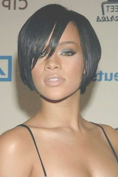 Photos Of Short, Long & Medium Black Hairstyles With Most Up To Date Medium Haircuts For Black Hair (View 6 of 25)