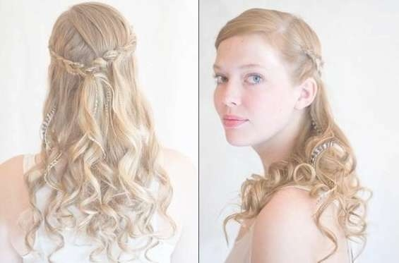 Picture Bridesmaids Hairstyles For Long Hair Tutorials | Medium Throughout Most Recent Medium Hairstyles For Bridesmaids (View 12 of 25)