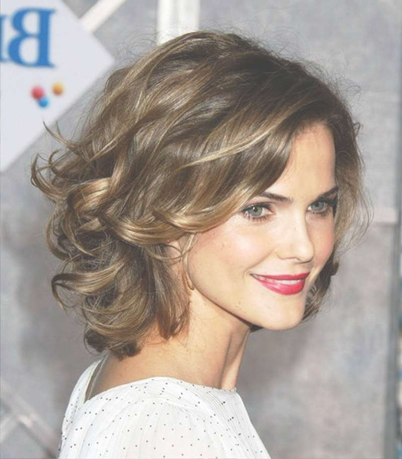 Pictures Of Wavy Hairstyles For Medium Thick Hair Throughout Latest Medium Haircuts For Wavy Thick Hair (View 9 of 25)