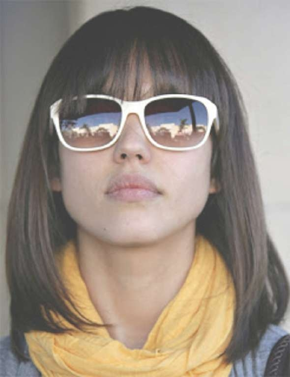 Popular Medium Length Haircuts With Bangs And Layers – Hair World Inside Most Recent Medium Hairstyles With Straight Bangs (View 20 of 25)