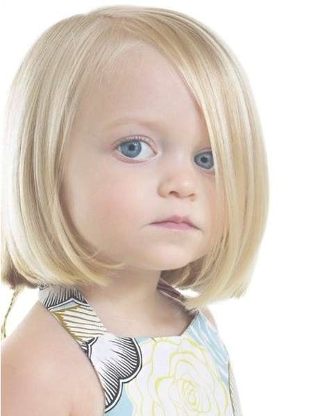 Pretty Little Girl Inverted Bob Haircuts | Styles Time Intended For Bob Hairstyles For Girls (View 13 of 25)