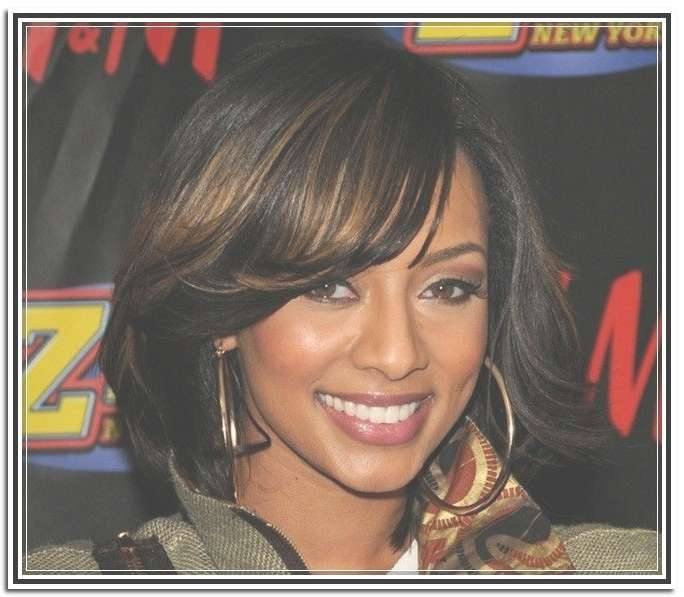 Pretty Medium Layered Haircuts Black Hair Within Best And Newest Black Women Medium Haircuts (View 24 of 25)