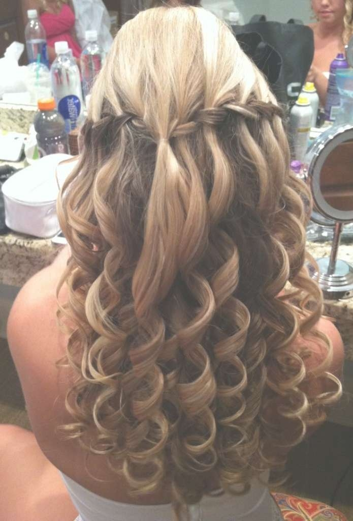 Prom Hairstyles For Long Hair Down Curly Long Hairstyles Formal Throughout Latest Long Ball Hairstyles (View 22 of 25)