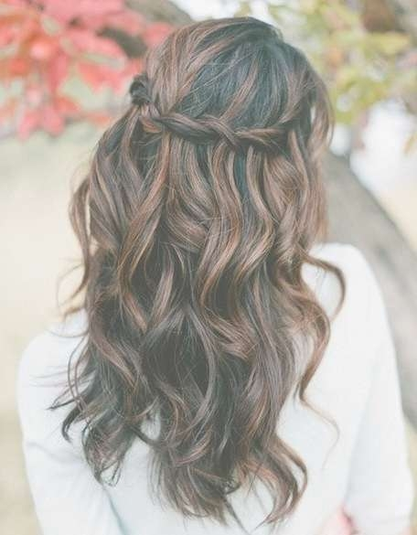 Prom Hairstyles For Long Hair Down Curly – Popular Haircuts With Best And Newest Long Prom Hairstyles (View 9 of 25)