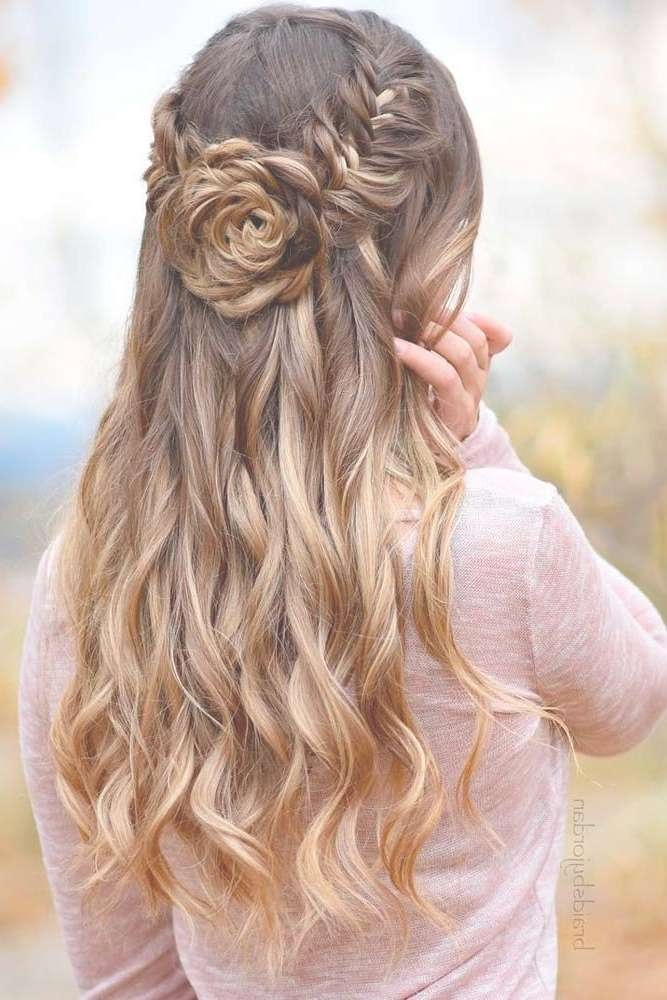 Prom Hairstyles For Long Hair Pictures – Abctechnology Pertaining To Newest Long Ball Hairstyles (View 13 of 25)