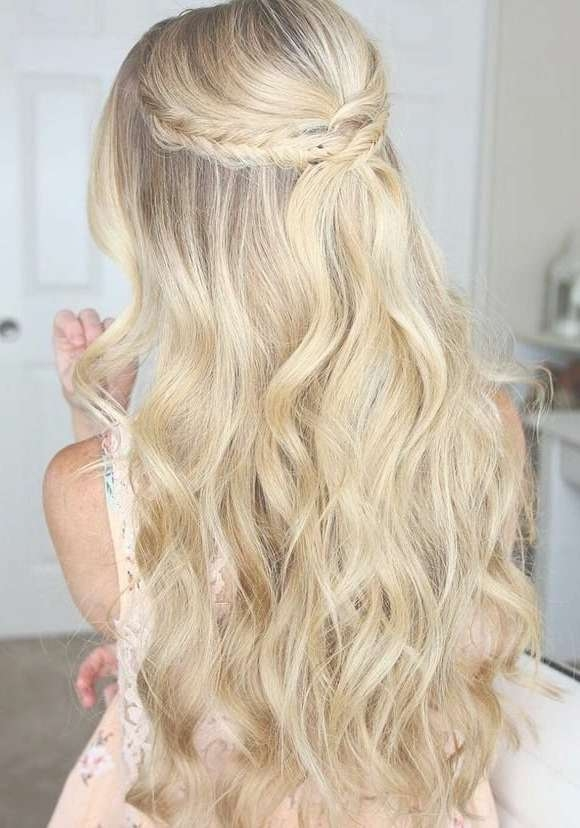 Prom Hairstyles For Long Thick Hair Short Hairstyles Prom With Regard To Most Popular Long Prom Hairstyles (View 10 of 25)