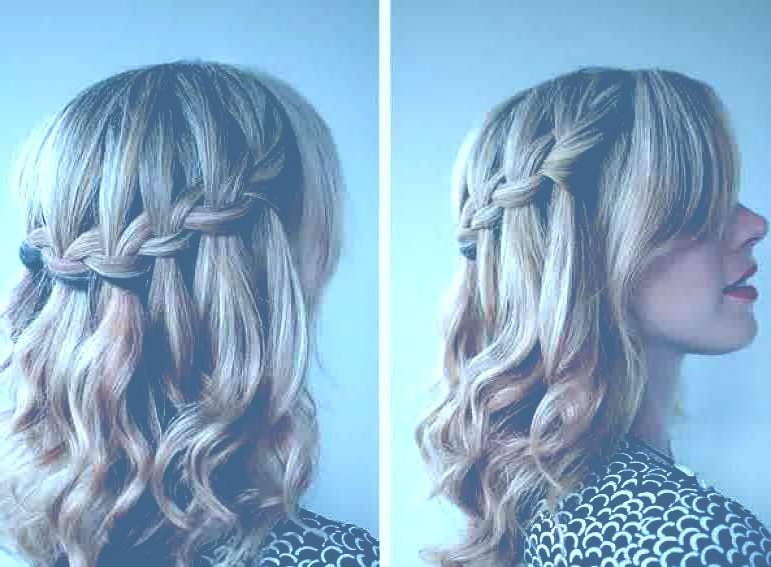 Prom Hairstyles For Medium Hair Braids Cute Prom Hairstyles For With Best And Newest Medium Haircuts For Prom (View 10 of 25)
