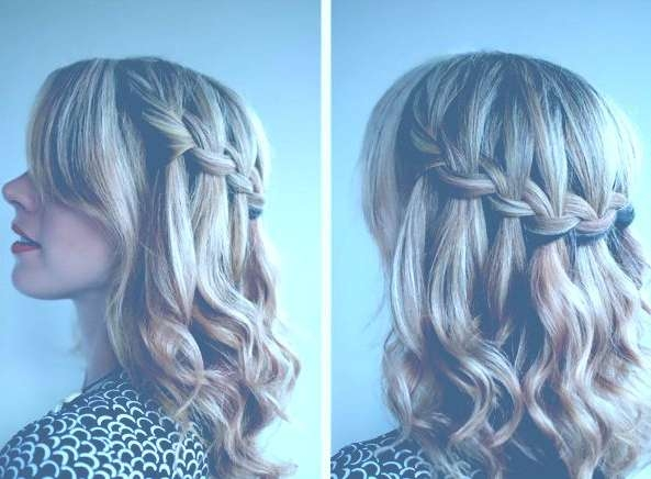 Prom Hairstyles For Medium Hair With Braids 14374 Braided Inside Current Prom Medium Hairstyles (View 17 of 25)