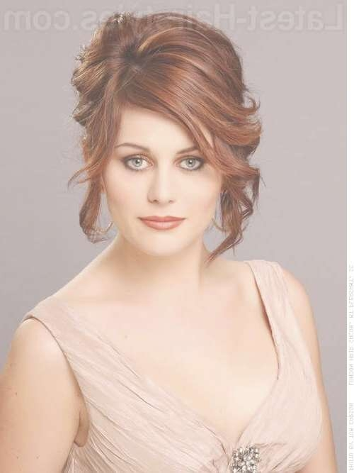 Prom Hairstyles For Medium Length Hair – Pictures And How To's Within Most Current Medium Hairstyles For Prom (View 13 of 25)