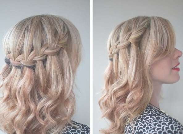Prom Hairstyles For Medium Length Hair Projects To Try Braided Within Most Popular Medium Hairstyles For Prom (View 11 of 25)