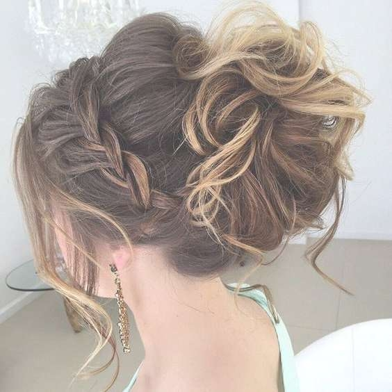 Prom Hairstyles Updos Medium Hair Within Most Current Medium Hairstyles For Prom (View 19 of 25)