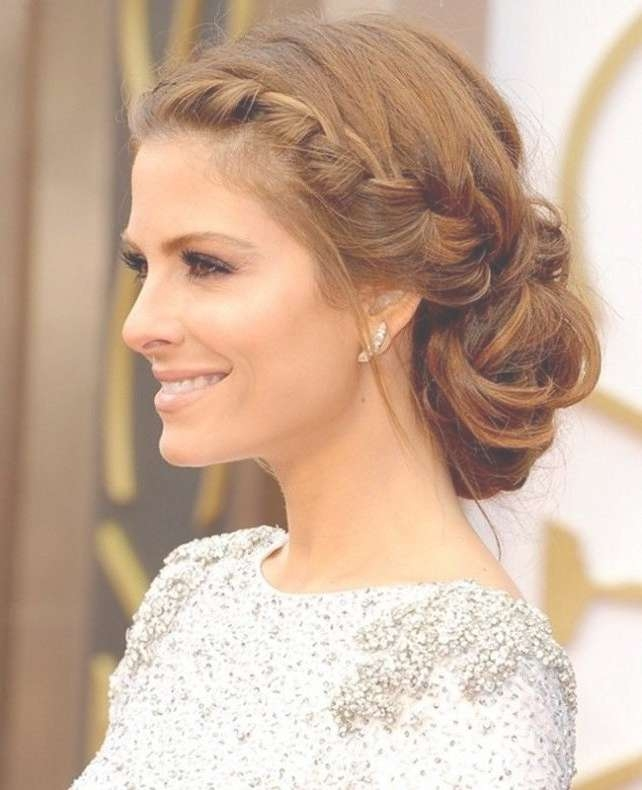Prom ~ Medium Hairstyles Gallery 2017 Throughout Most Popular Medium Hairstyles For Prom Updos (View 6 of 15)